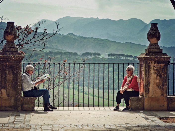 A balcony to rest — Malaga, 2017