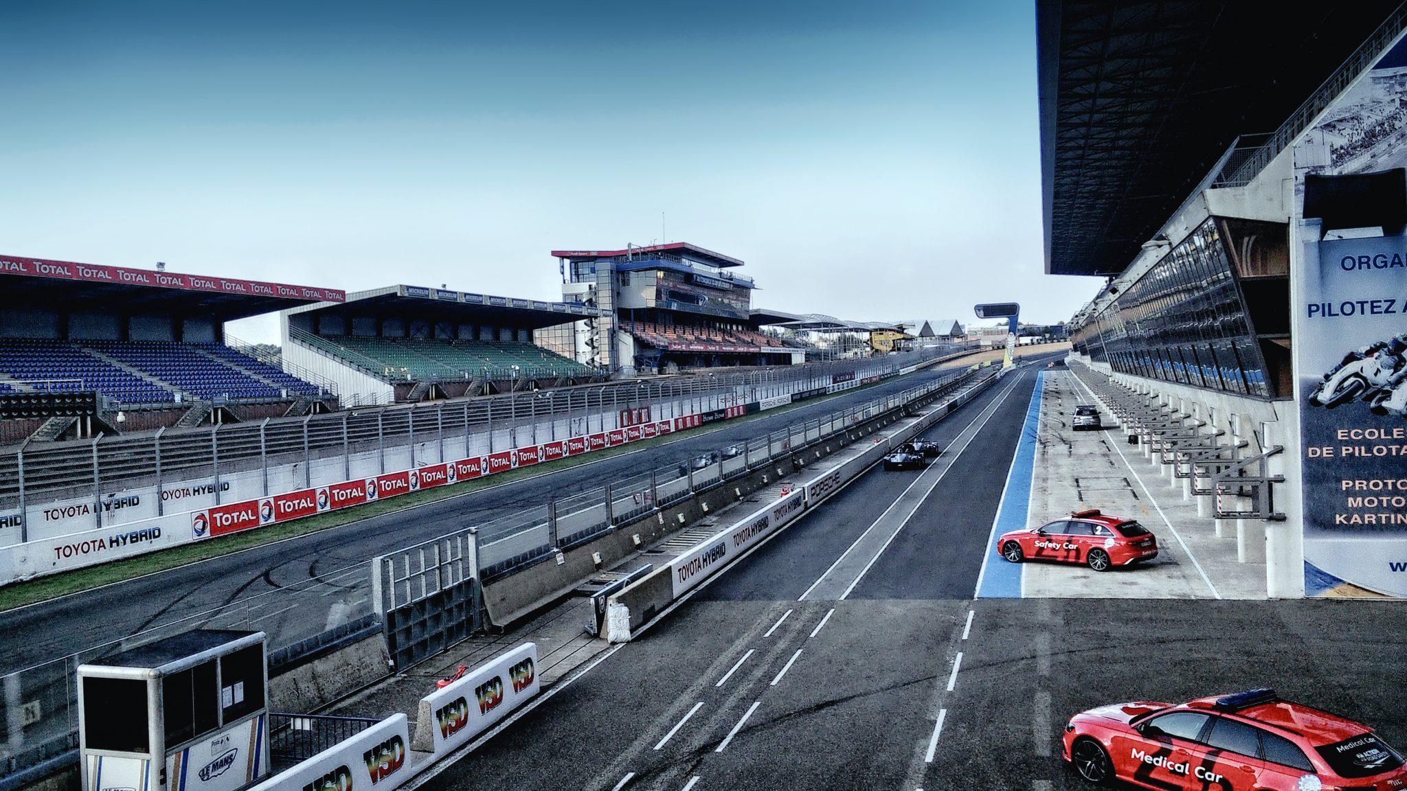 Quiet trainings — Le Mans, 2015