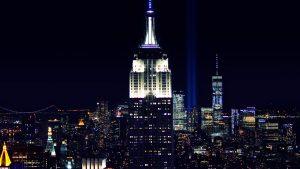 11S light tribute — New York, 2017