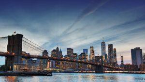 Night about to start in Manhattan — New York, 2017