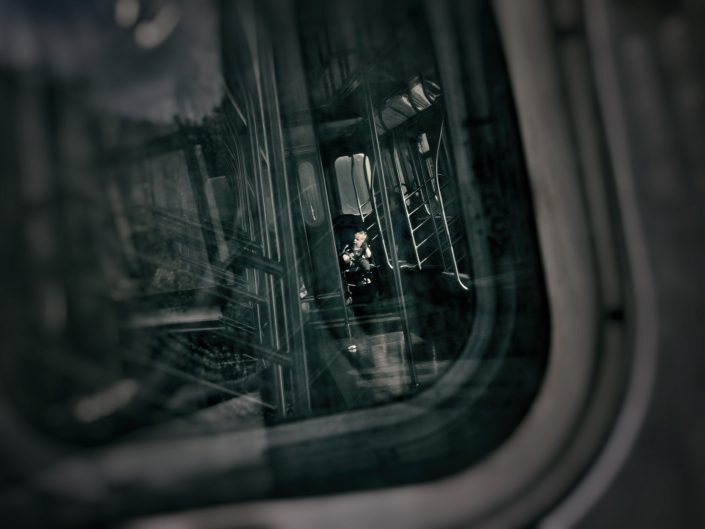 The young metro traveller — New York, 2017