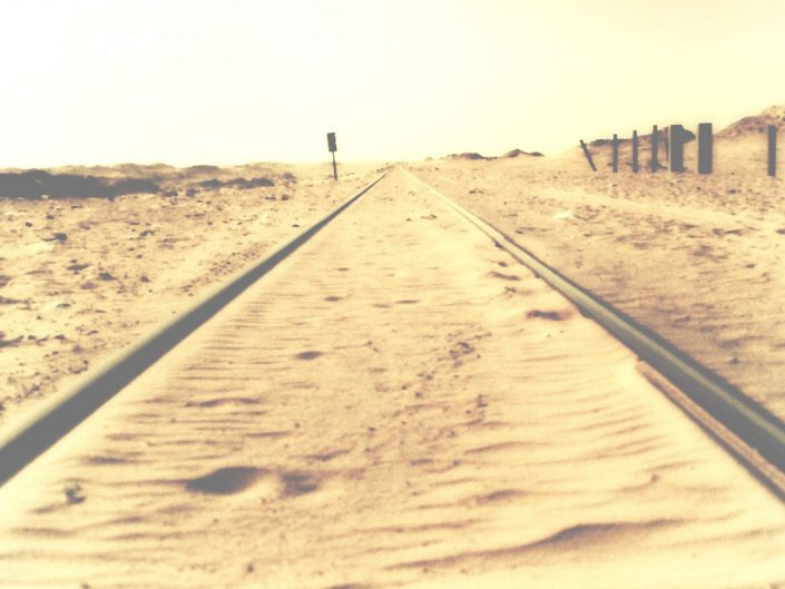 Railway to the sea — Mauritanie, 2005
