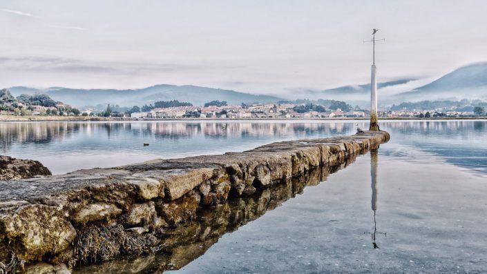 Fog is arriving — Nigrán, 2017
