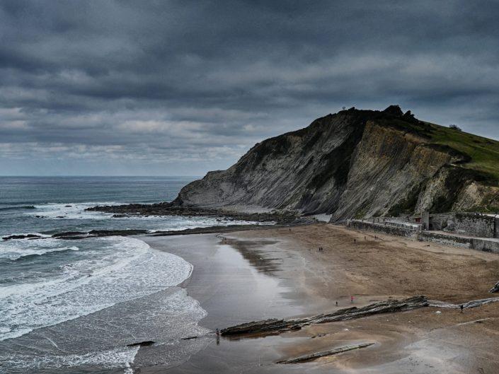 Sand, stone and sea — Zumaya, 2017
