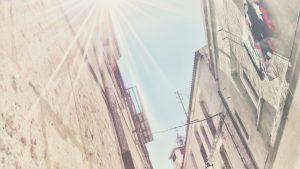 Gimme a break, Sun — Peñafiel, 2017