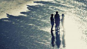 Summer chat at sunset — Conil de la Frontera, 2014