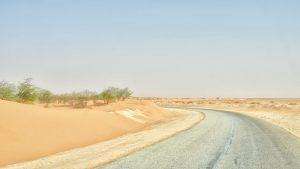 The main road to Nouakchott — Mauritanie, 2016