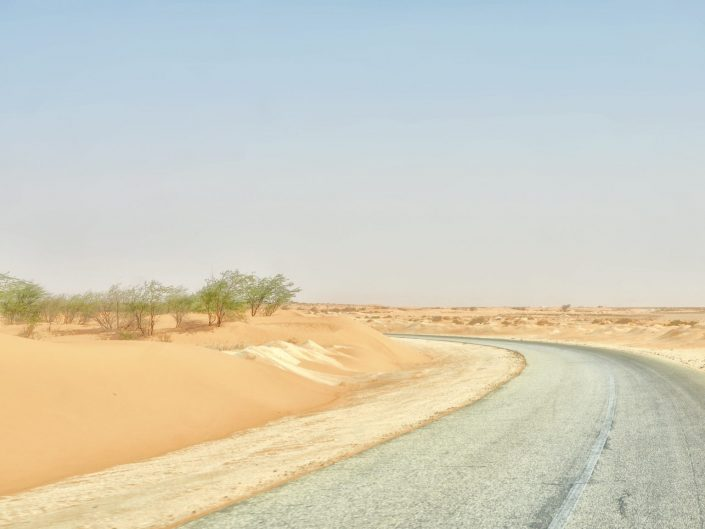 The main road to Nouakchott — Mauritanie, 2016