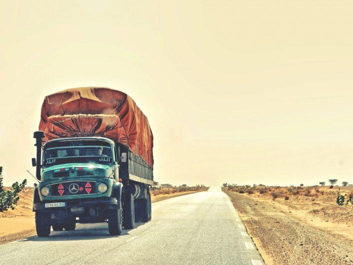 Sahara logistics — Mauritanie, 2016