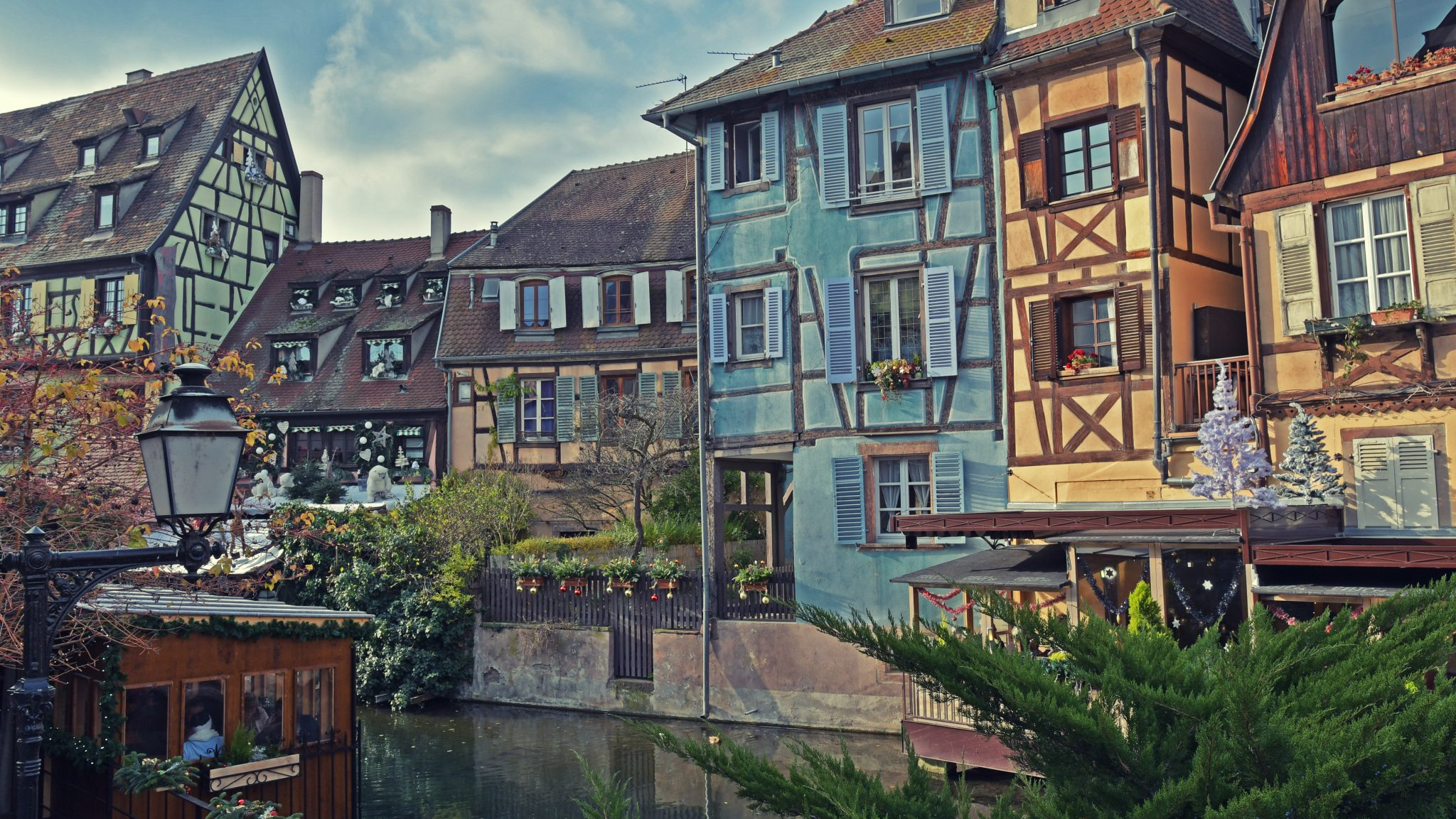 Colors for a sunny Christmas day — Colmar, 2017