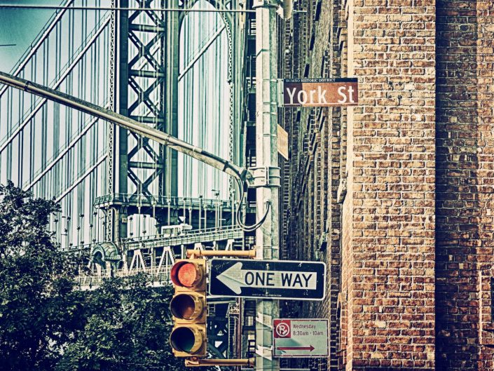 One way or another — New York, 2017