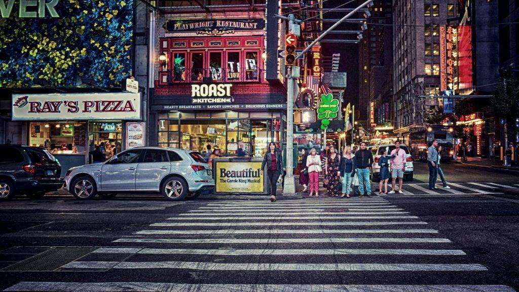 Enjoying the night — New York, 2017