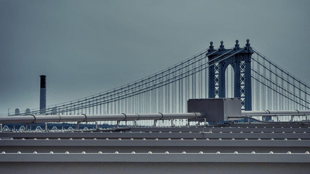 Two bridges — New York, 2017