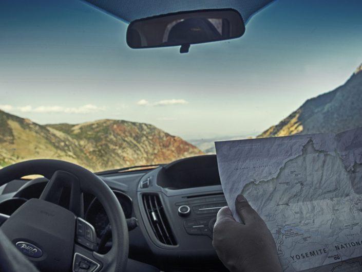 Navigating — Yosemite, 2018