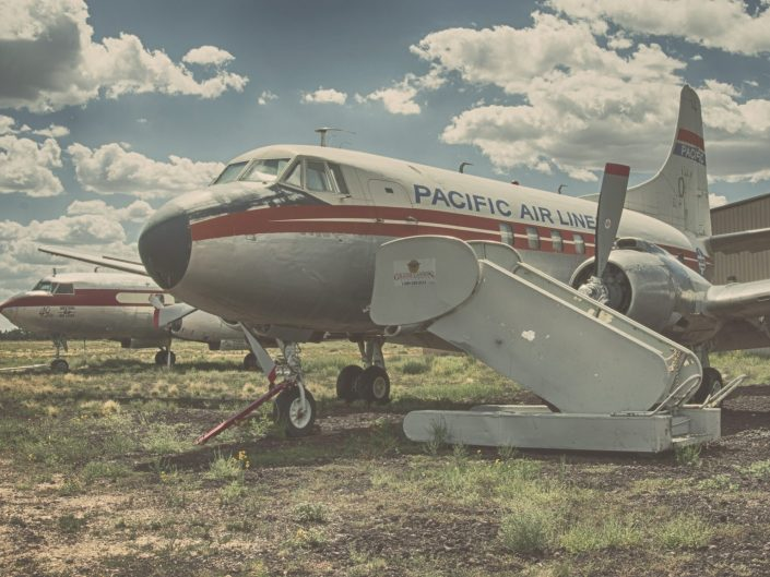 Loving the Convair — Valle, AZ, 2018