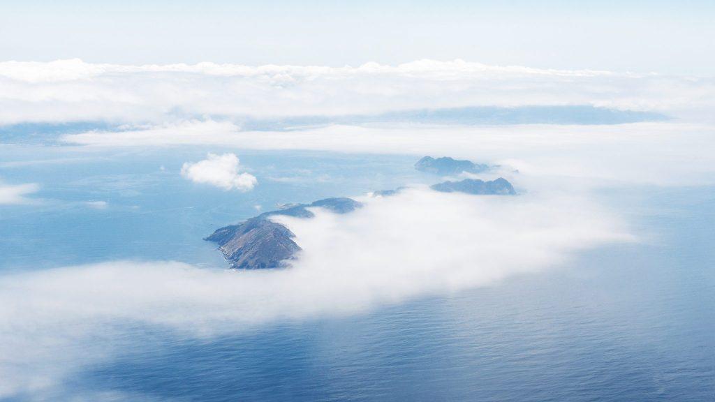 Sea of white clouds — Vigo, 2019
