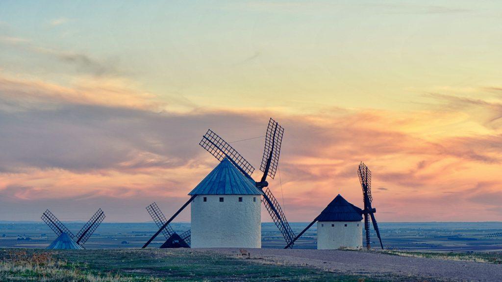 Silent memories of don Quixote — Campo de Criptana, 2019